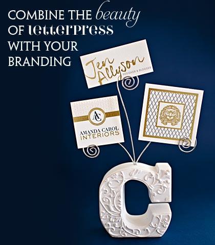 letterpress your brand